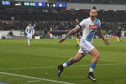 Hamšík se postaral o druhý gól domácího týmu