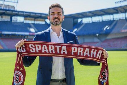 Fotbalová Sparta potvrdila příchod italského trenéra Andrey Stramaccioniho.