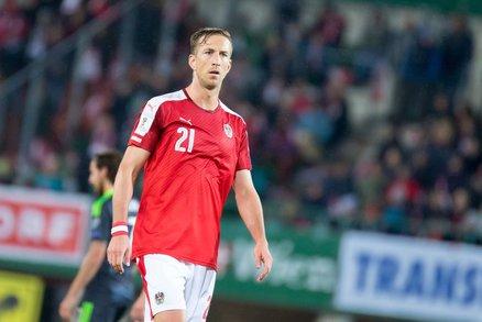 Marc Janko v dresu rakouského národního týmu