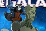 Strážci galaxie v animované/anime podobě
