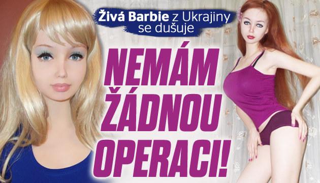 Ukrajinská Barbie: Nemám žádnou plastiku!