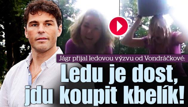 VIDEO: Jágr přijal výzvu od Vondráčkové