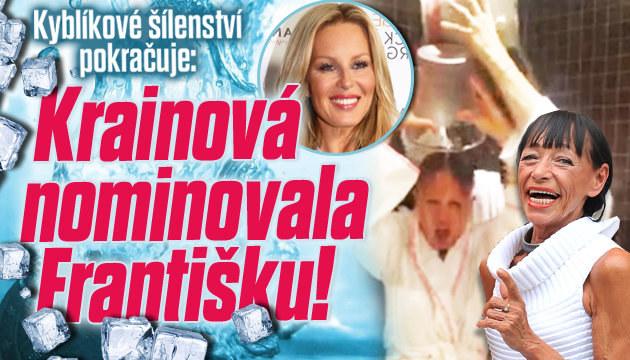 Ledová výzva: Krainová nominovala Františku!