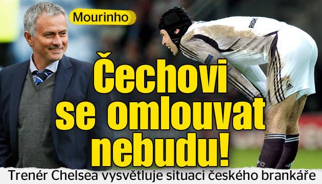 Mourinho s Čechem osobně nemluvil