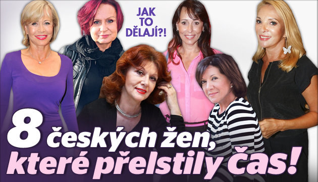8 českých žen, které přelstily čas!