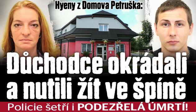 Hyeny z Domova Petruška: Seniory týrali a okrádali