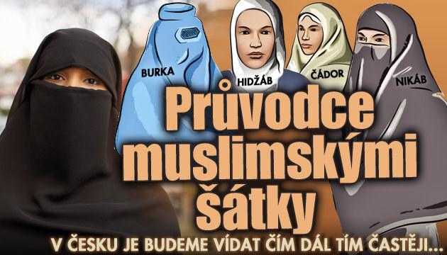 Velký průvodce muslimskými šátky