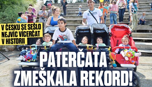 První česká paterčata zmeškala rekord!