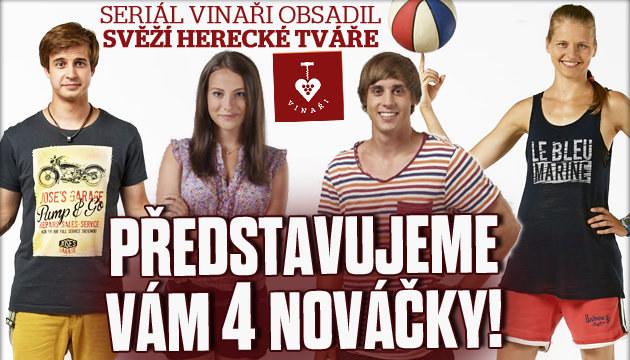Seznamte se s herci z Vinařů!
