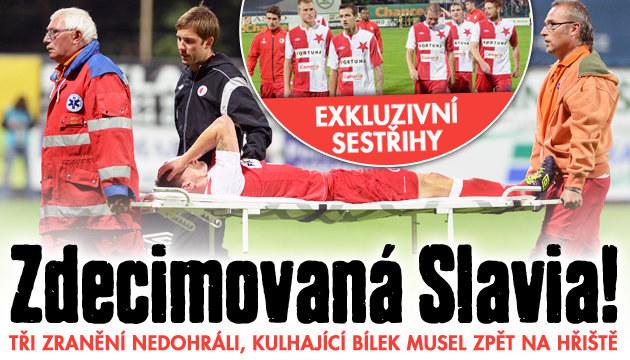 Zničená Slavia prohrála v Boleslavi 1:2