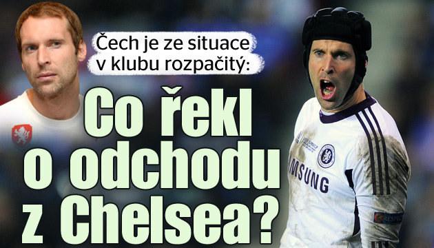 Co si Čech o odchodu z Chelsea myslí?
