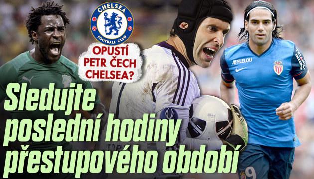 Rozhodnutí se blíží: Opustí Petr Čech Chelsea?
