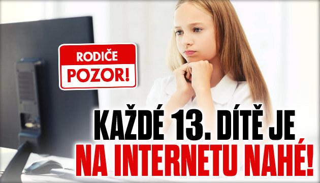 Rodiče pozor: Internet láká každé 13. dítě se svéknout!