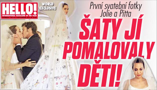 Jolie a Pitt: První svatební fotky!