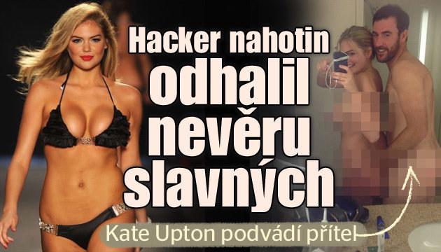 Hacker odhalil nevěru přítele Kate Upton