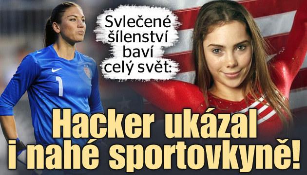 Svlečené šílenství: Hacker ukázal i nahé sportovkyně
