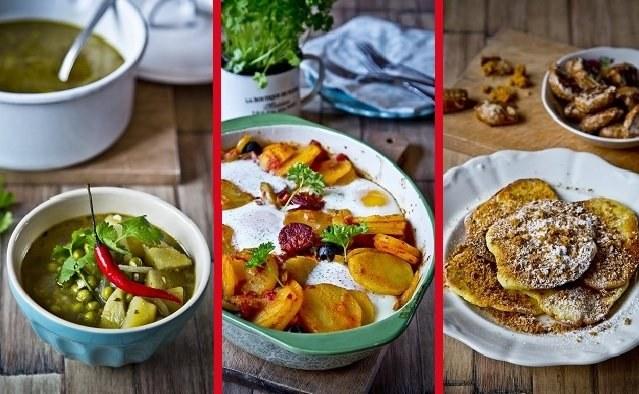 Skvělé recepty z brambor: Indická polévka, zapečené brambory nebo chutné placky