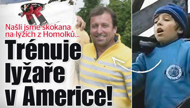 Našli jsme skokana z Homolků...v Americe!