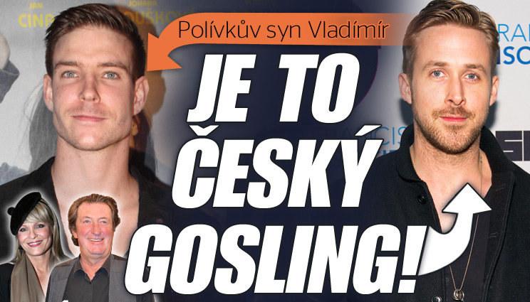Polívkův syn je český Gosling