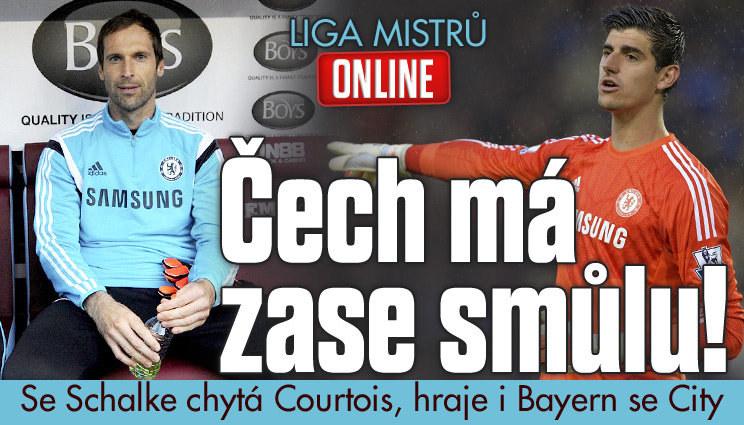 LM ONLINE: Čech za Chelsea opět nehraje