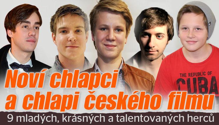 Noví chlapci a chlapi českého filmu!
