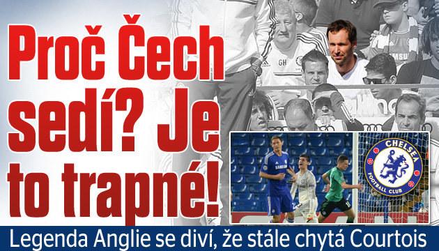 Legenda Anglie: Proč Čech sedí? Je to trapné!
