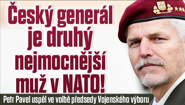 Český generál je 2. nejmocnější muž v NATO