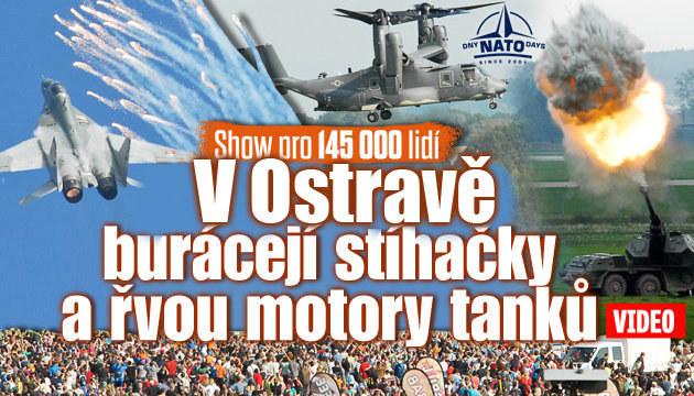 Dny NATO přilákaly 145 tisíc lidí