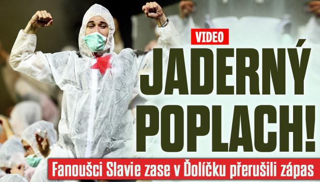 Fanoušci Slavia zase přerušili zápas