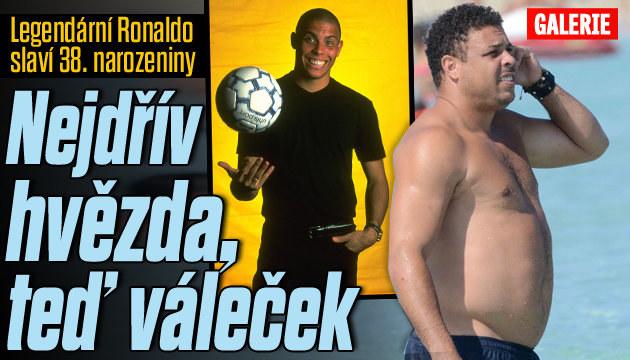 Jak ztloustnul legendární Ronaldo?