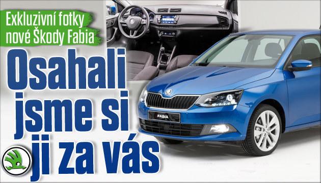 Nová Škoda Fabia: Poprvé naživo a bez kamufláže!