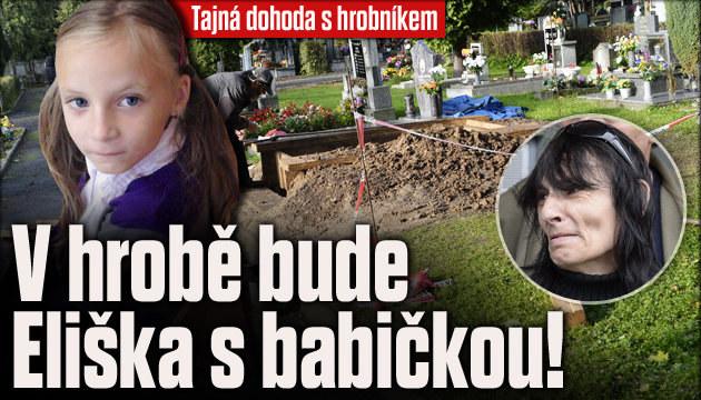 Babička Elišky: Tajná dohoda s hrobníkem!
