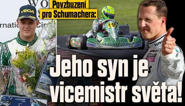 Schumacherův syn Mick řádí na motokáře