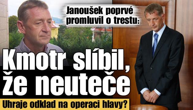 Co řekl Janoušek o svém trestu 4,5 roku vězení