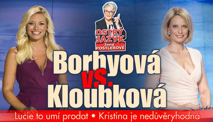 Borhyová vs. Kloubková! Lucie v tom umí chodit!