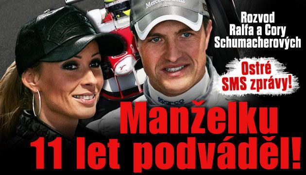 Ralf Schumacher podváděl manželku 11 let