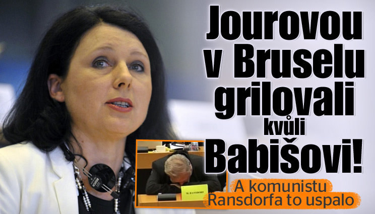 Jourovou v Bruselu grilovali za Babiše!