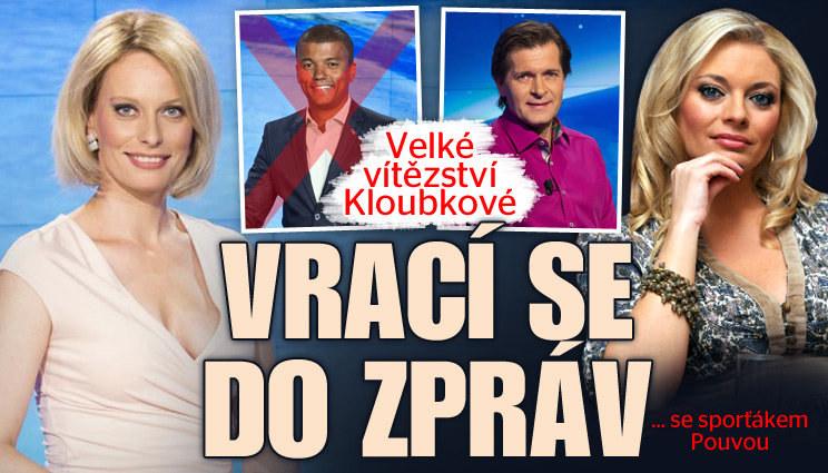 Vítězství Kloubkové: Vrací se do zpráv se sporťákem Pouvou!