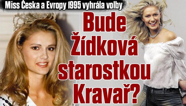 Miss Česka a Evropy 1995 vyhrála volby