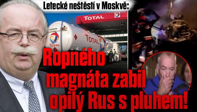 Ropného magnáta zabil na letišti opilý Rus