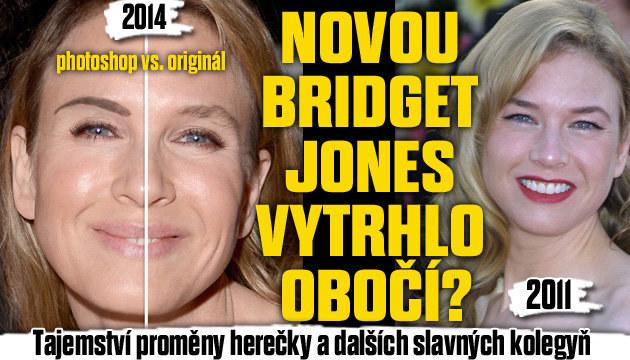 Plastiku popírá! Bridget Jones změnilo jen obočí?