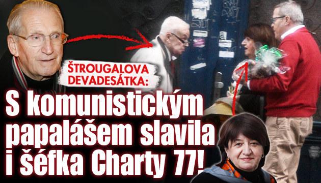 Komunista Štrougal slavil 90. narozeniny: