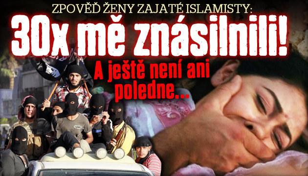 Zpověď ženy zajaté islamisty