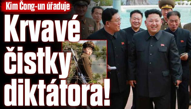 Kim pokračuje v čistkách v Severní Koreji!