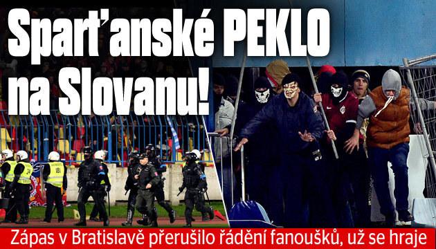 ONLINE: Už se hraje, Slovan - Sparta 0:0