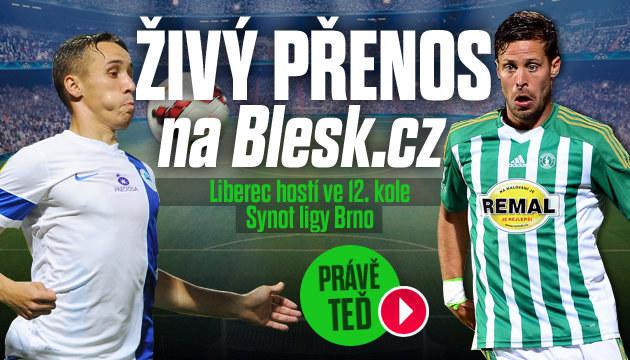 Sledujte přímý přenos z utkání Liberec - Bohemians