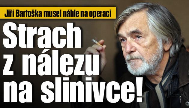 Jiří Bartoška má strach z nálezu na slinivce