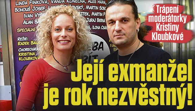 Exmanžel Kloubkové je rok nezvěstný!