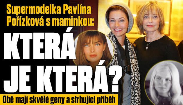 Tompodelka Pořízková s mámou: Vypadají jako sestry
