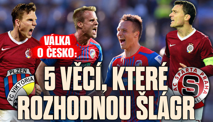 Válka o Česko: Co rozhodne šlágr mezi Plzní a Spartou?